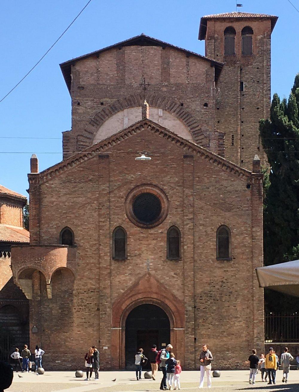 Church of the Crucifix, Basilica of Santo Stefano, Bologna.