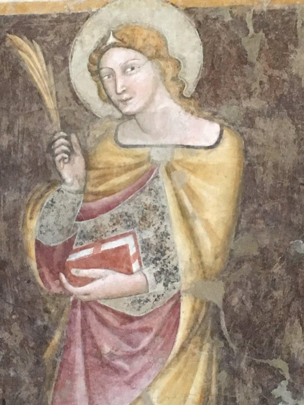 Fresco, Santo Stefano, Bologna