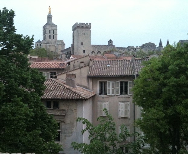 Avignon, France - the starting point of a Viking cruise through southern France.