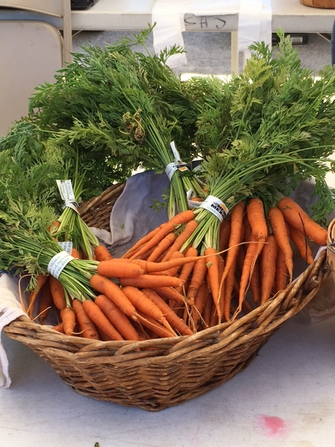 tiny carrots are so flavorful