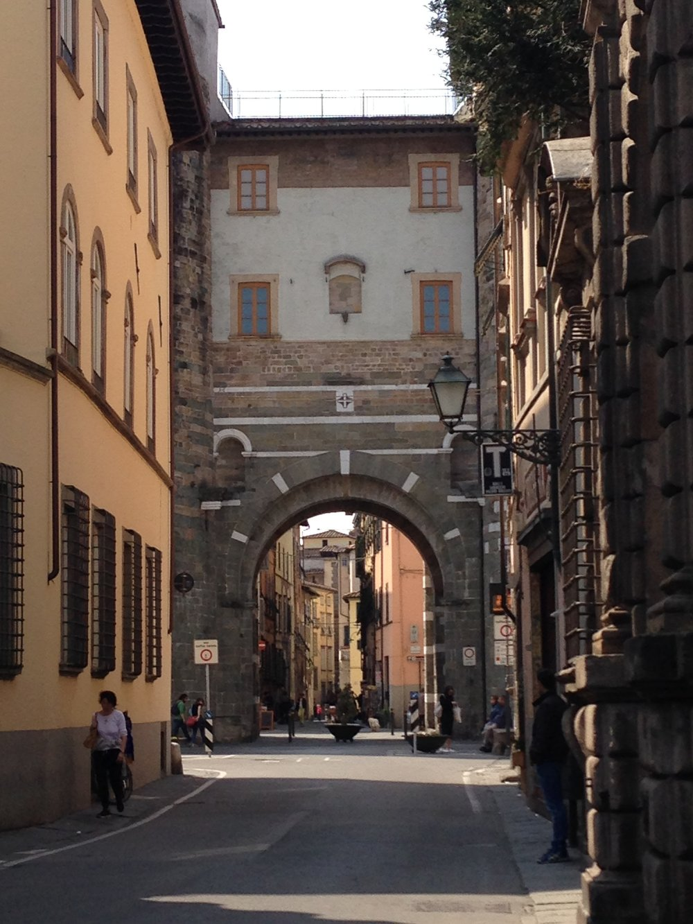 Porta San Gervasio, Lucca.