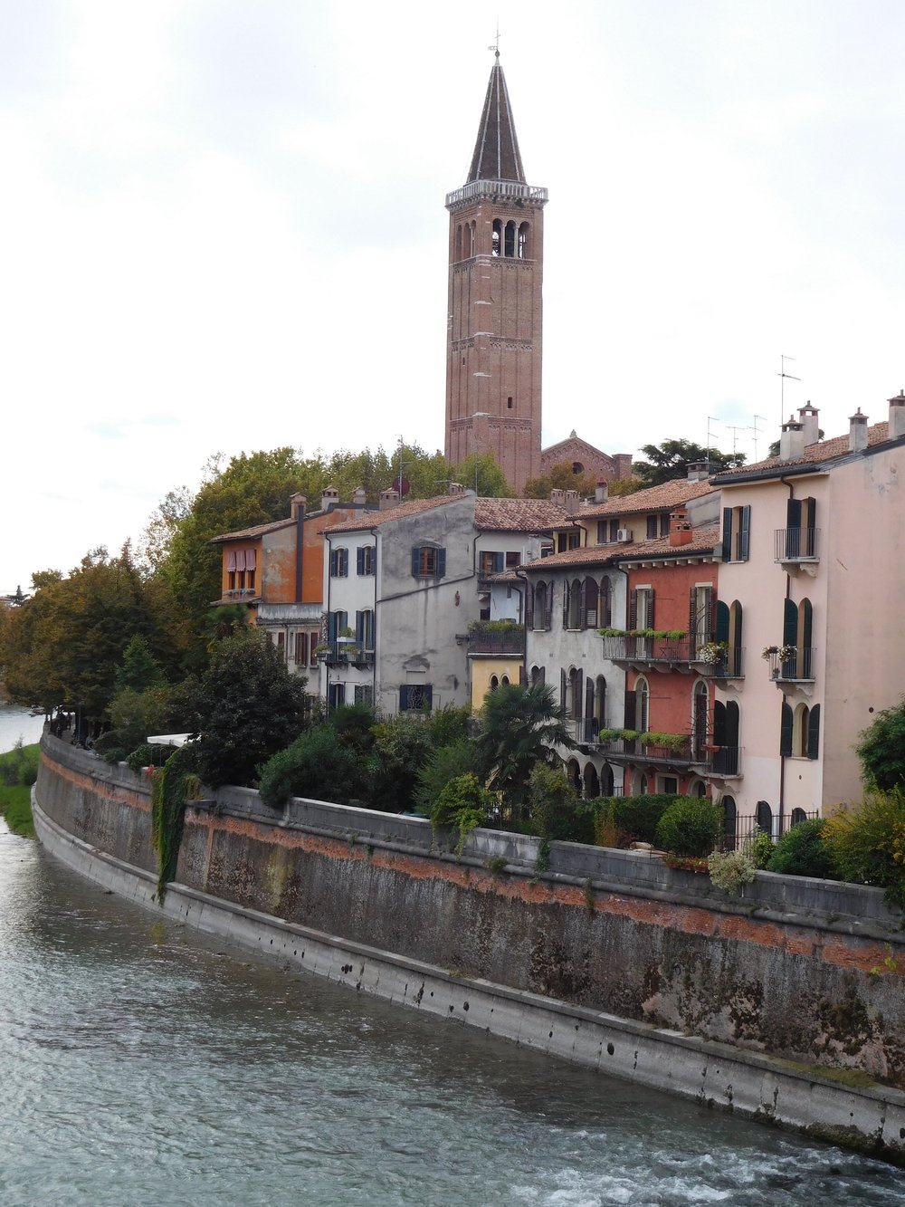 The river Adige in the heart of Verona