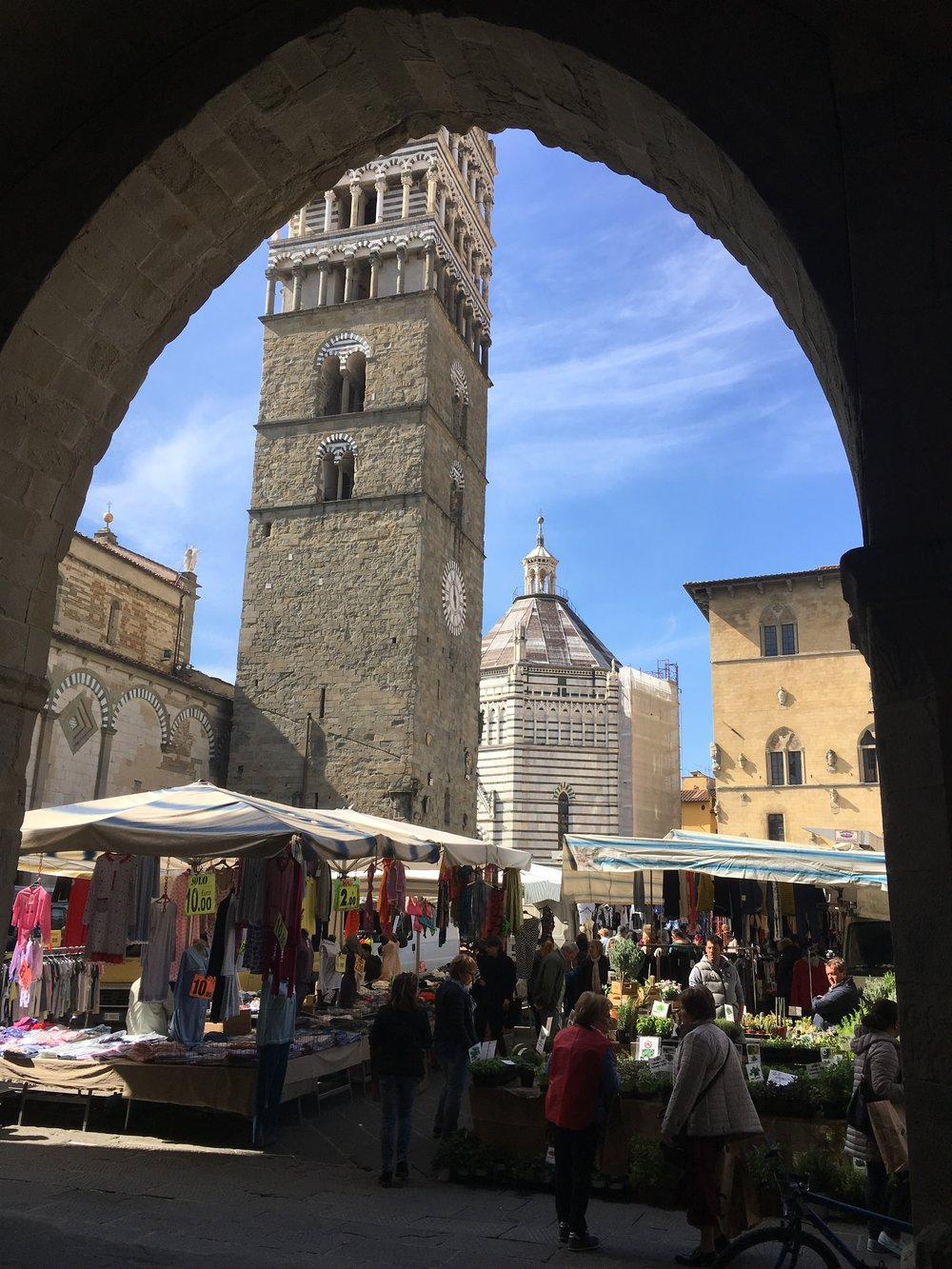 Pistoia, Market Day
