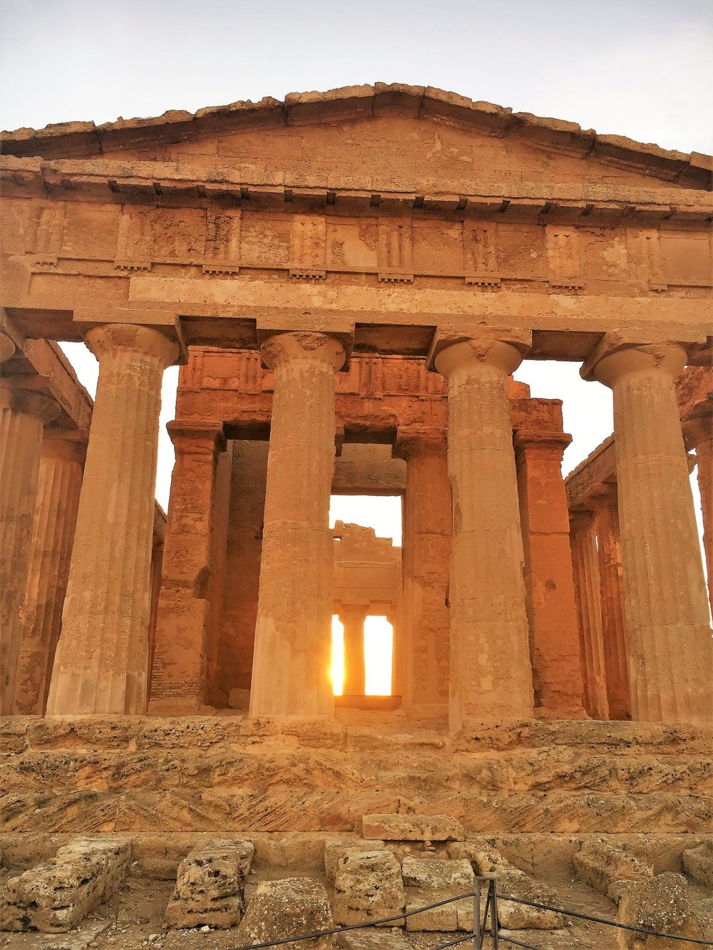 Temple of Concordia, near Agrigento