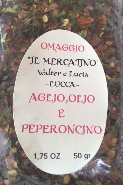 This spice mix is the magic ingredient when making caprini.