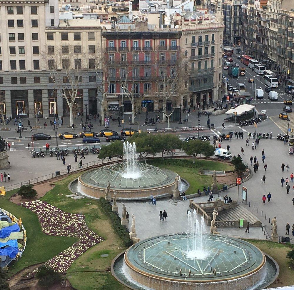 Plaça Catalunya, Barcelona