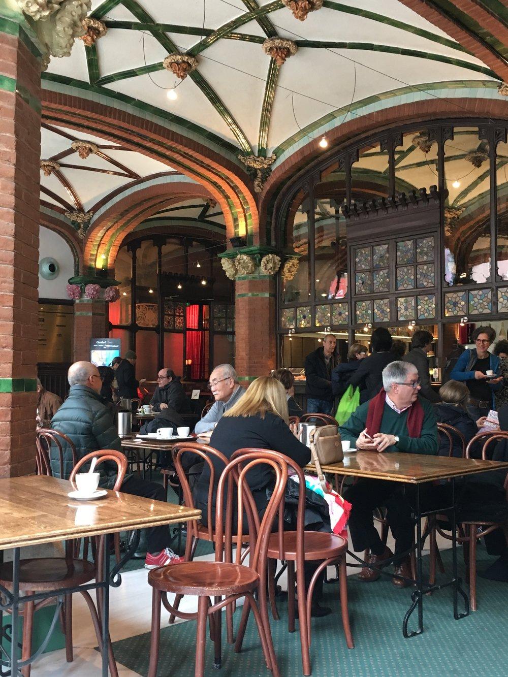 Cafe, Palau de la Musica