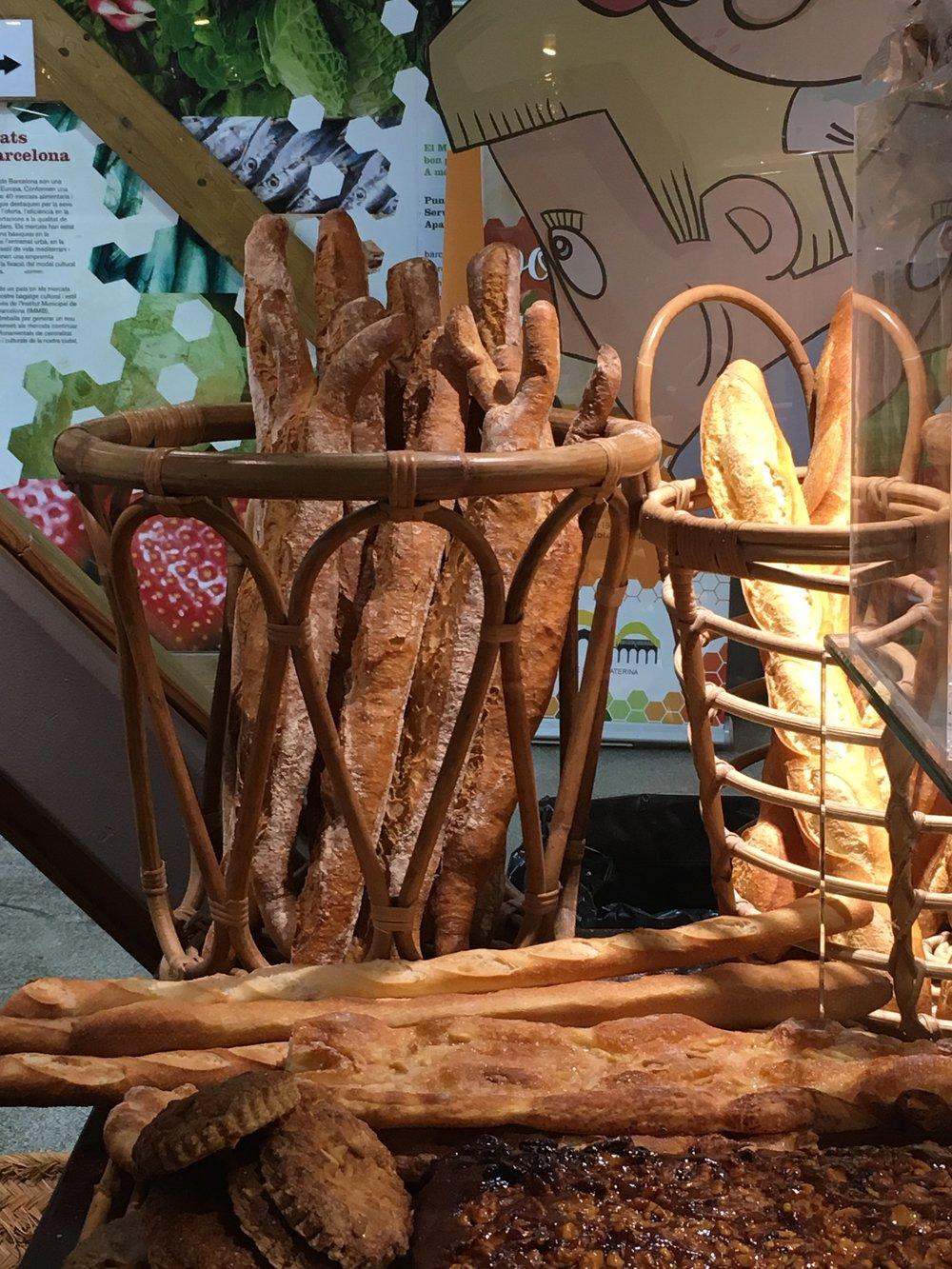 A bakery in the Santa Caterina market