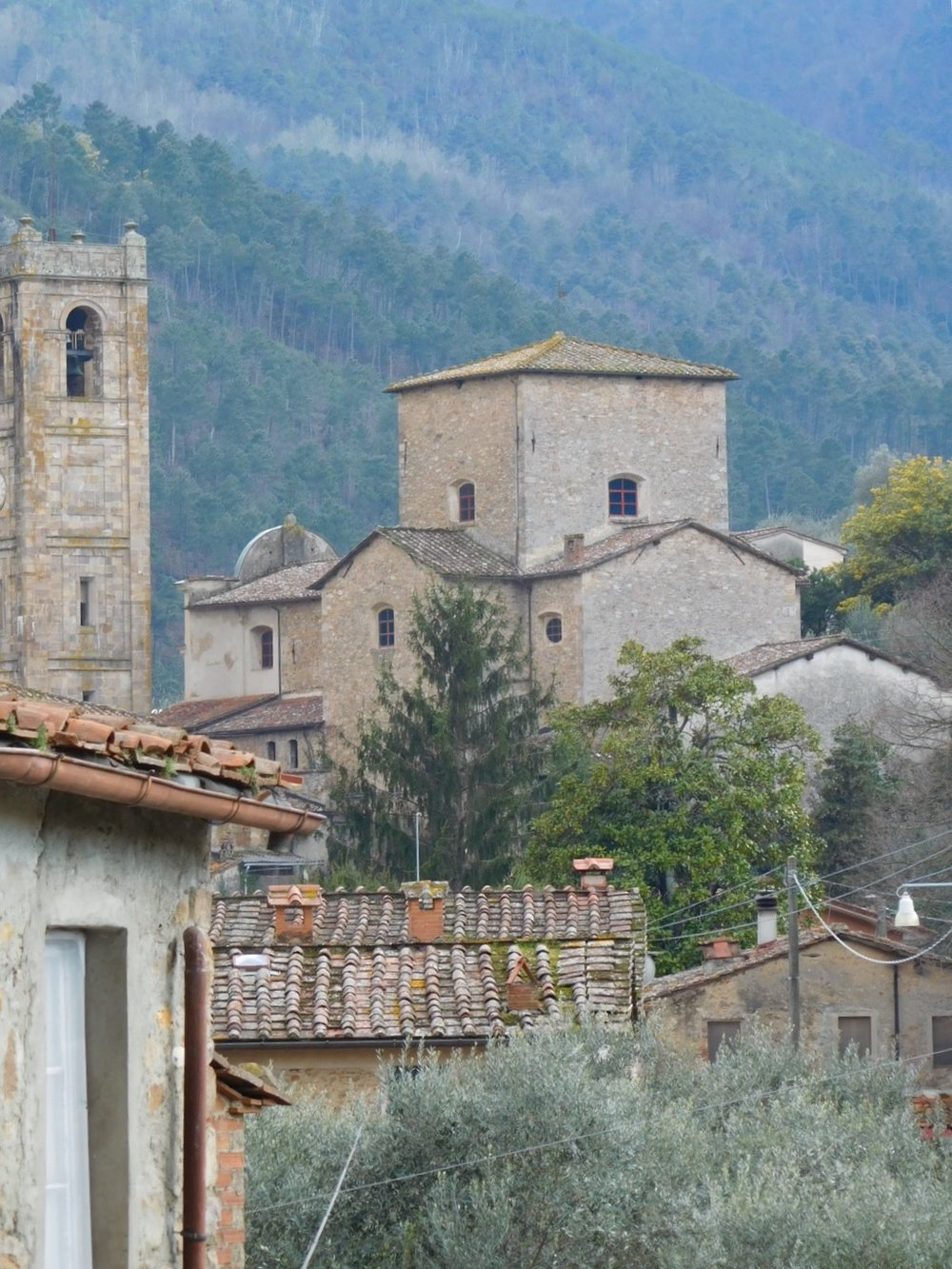 The beautiful  borgo  of Sant'Andrea di Compito
