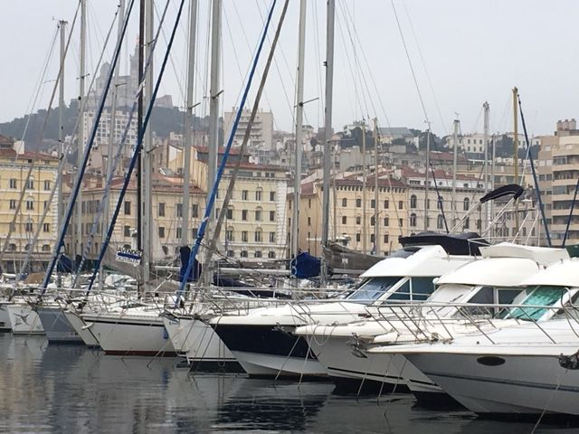 Marseille's Old Port