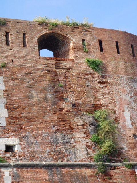 Fortezza Vecchia, wall