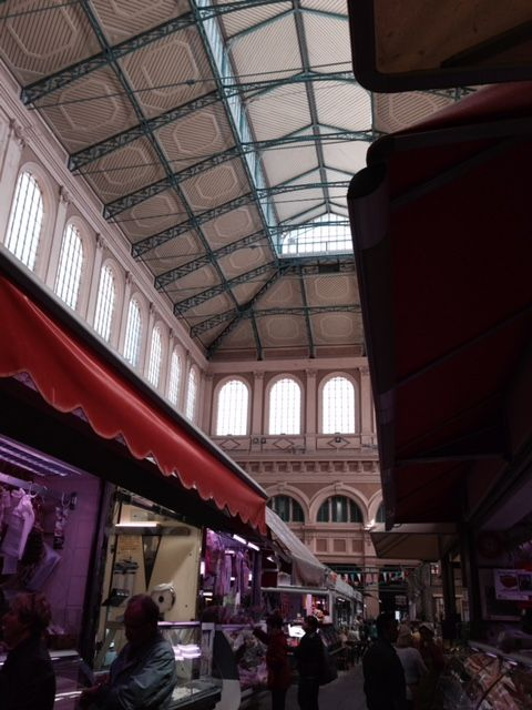 Ceiling detail, market