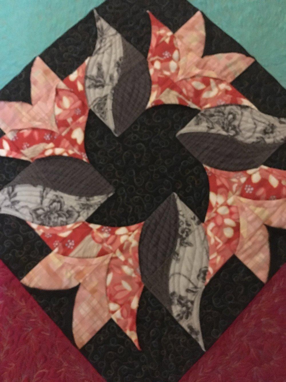 Detail from Tulipani by Antonella Stivanello
