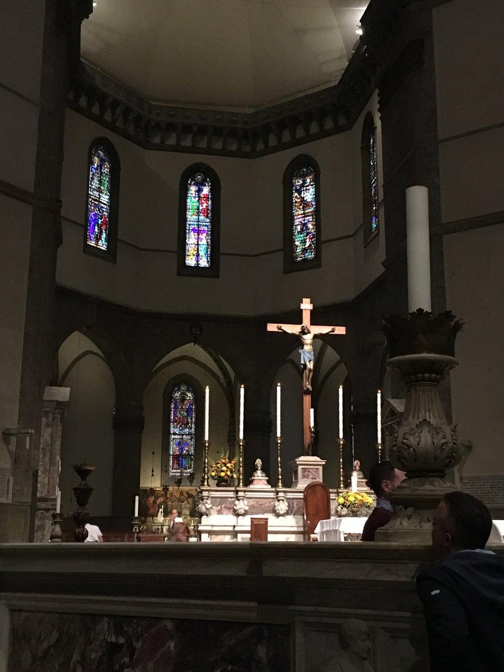 Main altar, Santa Maria del Fiore (Duomo), Florence