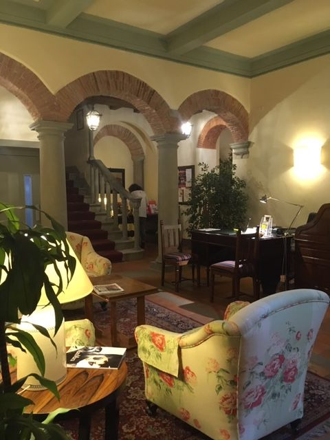 Reception area, Hotel Morandi alla Crocetta