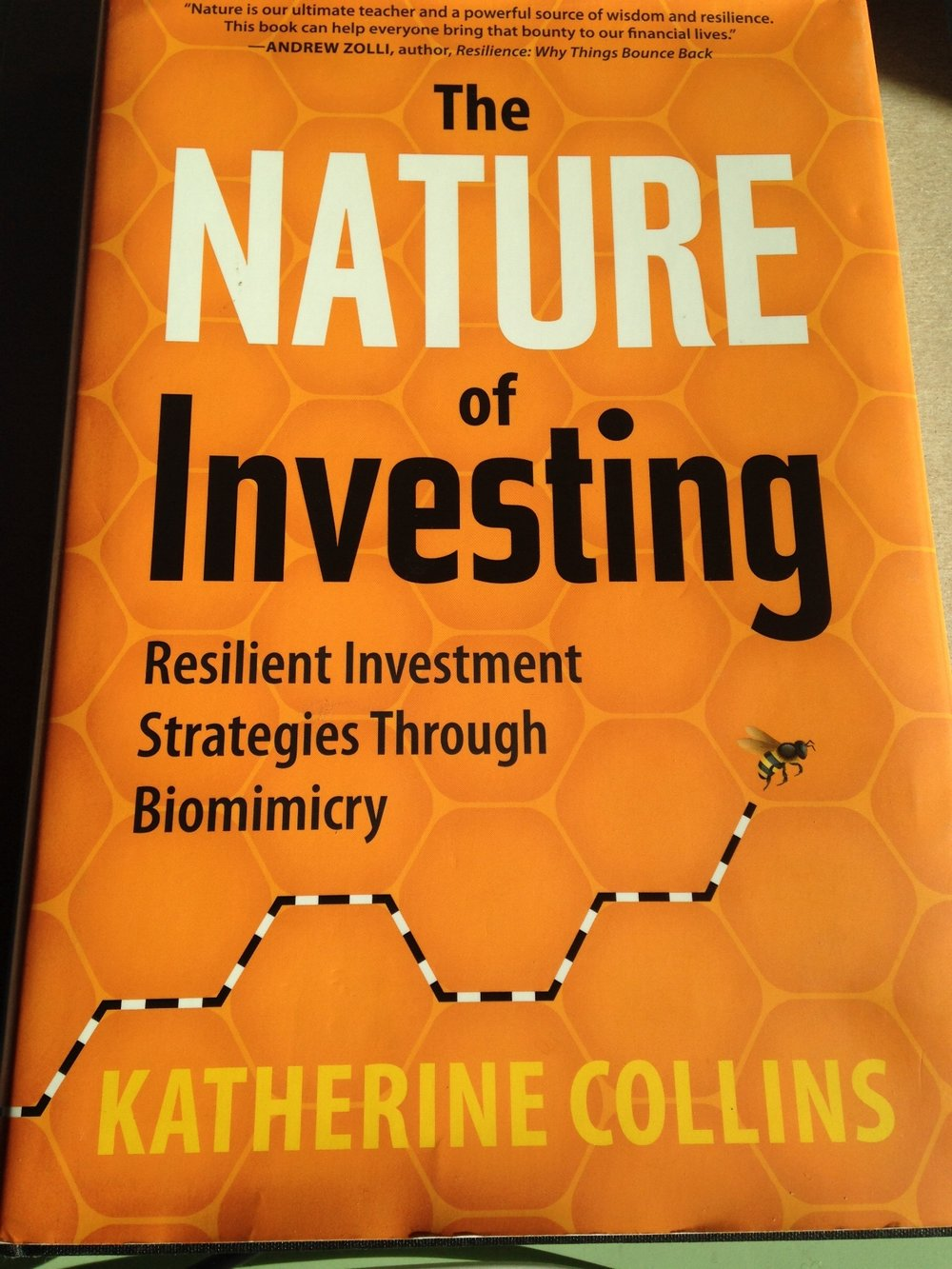 Katherine Collins brings tremendous insight into investing.  Check her out at Honeybee Capital. www.honeybeecap.com