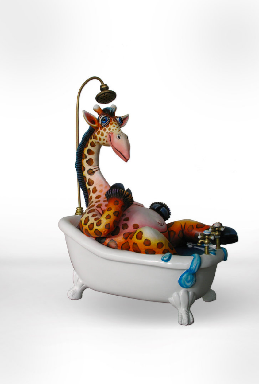 Giraffe Bathtub