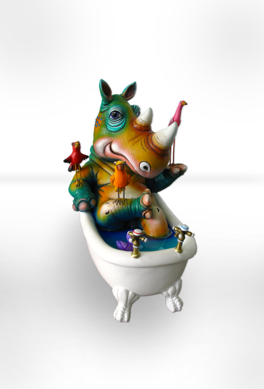 Rhino Bathtub