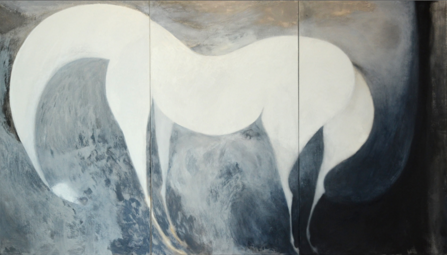 "Tsunami 52x90"" Acrylic on Linen"