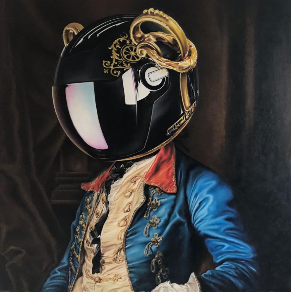 Black Helmet - SOLD