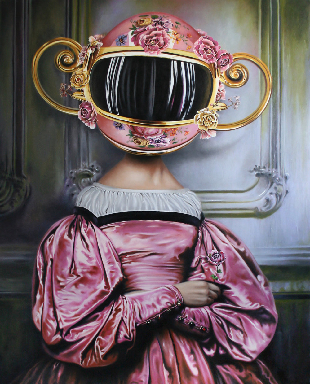 Pink Gown - SOLD