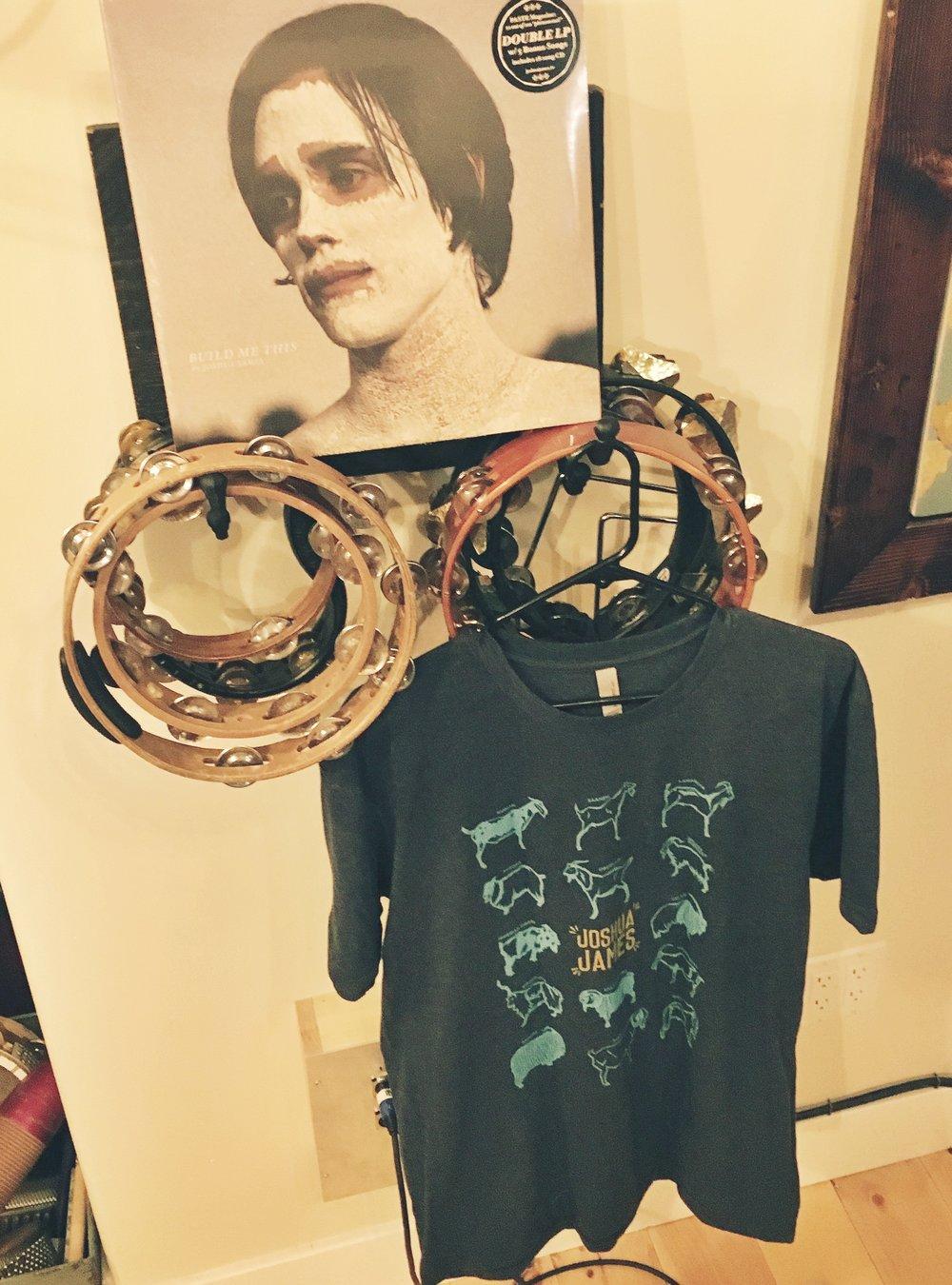 CD/vinyl + tshirt!