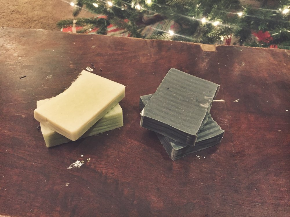 Hand-made soap!