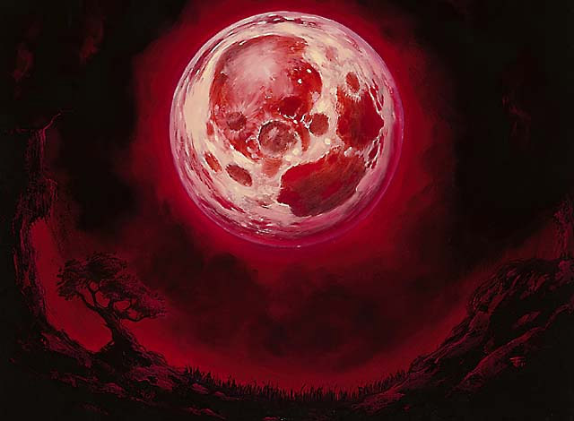 YMCAFT: Blood Moon, by Franz Vohwinkel
