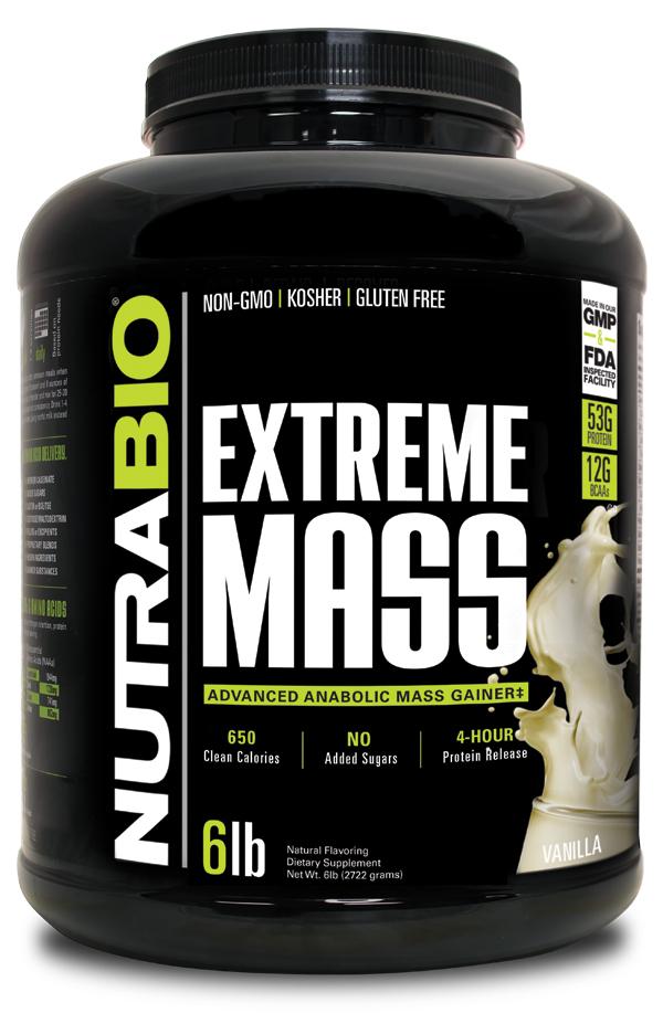 NUTRABIO Extreme Mass Gainer