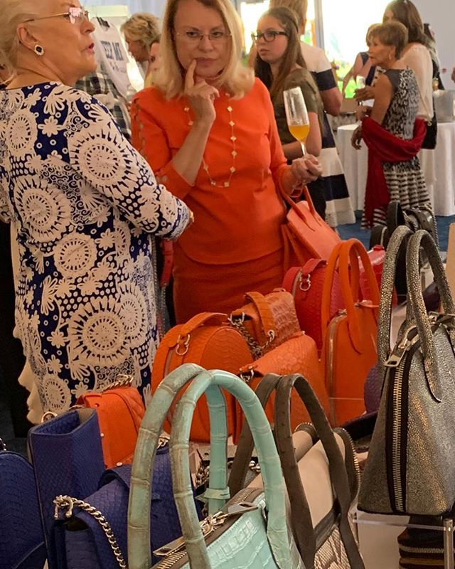 Everyone is enjoying the warm weather and gorgeous handbags today. 🌞🌴 Kathryn Allen Couture is taking part in a very special charity benefitting Big Dog Ranch Rescue today from 10:30-3:00 held at Mar-A-Largo Club, Palm Beach. Big Dog Ranch is a leader in the national animal welfare movement, a cage free rescue and shelter for homeless and abused dogs of all breeds, finding them forever homes. 💗🐕 #pink #dogrescue #foreverhome #palmbeach #realoutfitgram #whatiweartoday #stylediary #stylefile #styleblogger #classyandfashionable #fashionigers #ootdstyle #lookoftheday #luxuryblogger #italianblogger #italianfashion #interior design #DubaiFashion #europeanfashion #fashiongirls #GirlBoss #inspiration #WhoWhatWear #Bloggerstyle #Timeless #Cottagestyle #Classic #Editorial #blogger