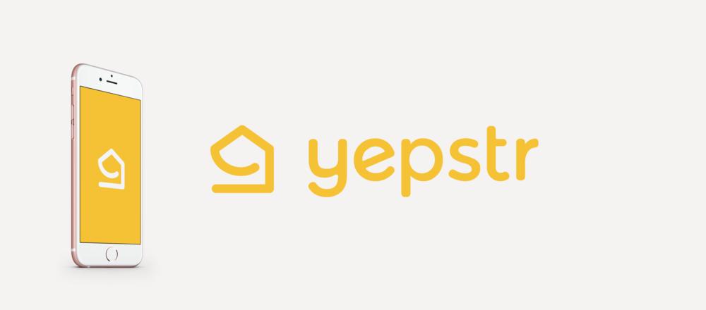 Brand identity for Yepstr.
