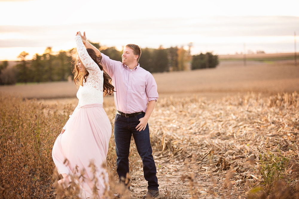 lehia erger photography engagement  wedding brandon iowa farm.jpg