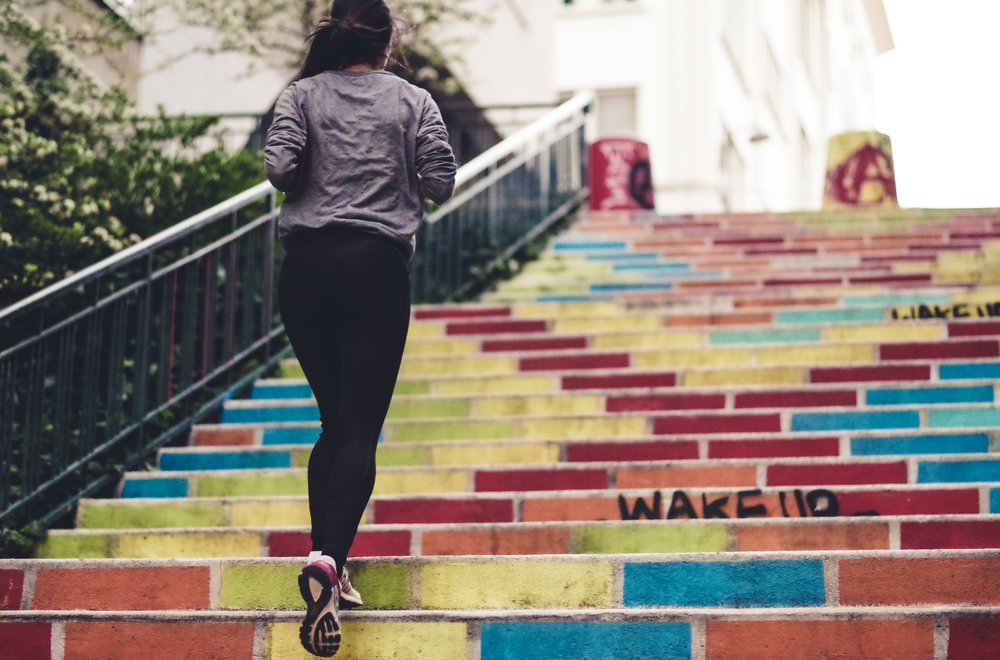Importance of staying fit in college