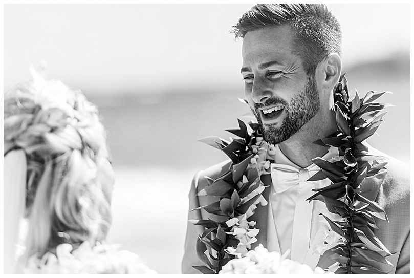 ironwoods-beach-elopement-maui-black-and-white-groom-smiling