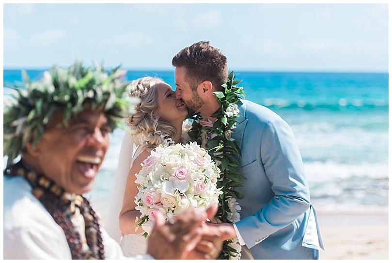 ironwoods-beach-elopement-maui-bride-groom-first-kiss