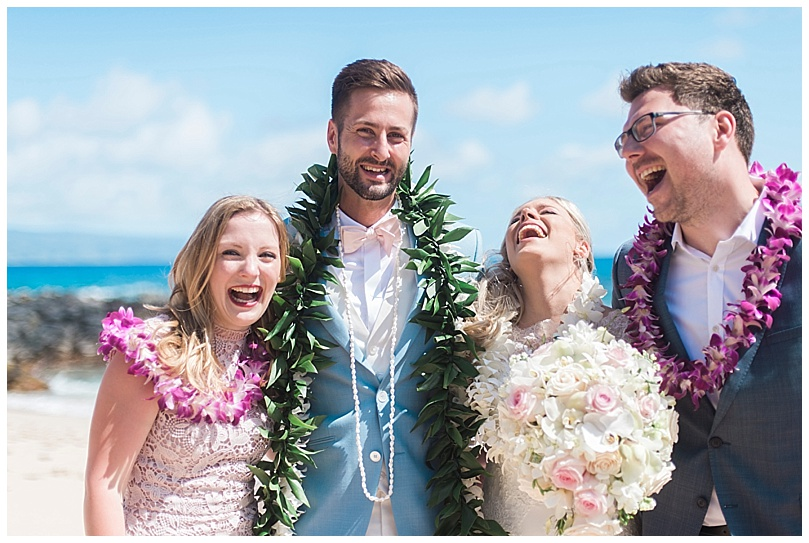 ironwoods-beach-elopement-maui-wedding-group-photo-laughing