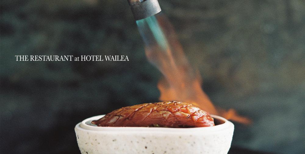 The Restaurant at Hotel Wailea Branding Shoot