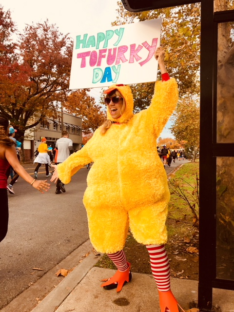 Thanksgiving 2017: a spectacle for Sacramento joggers