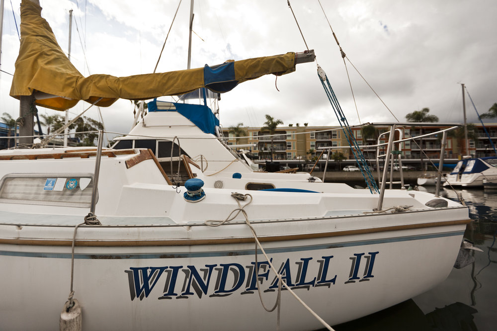 Exterior of Windfall II