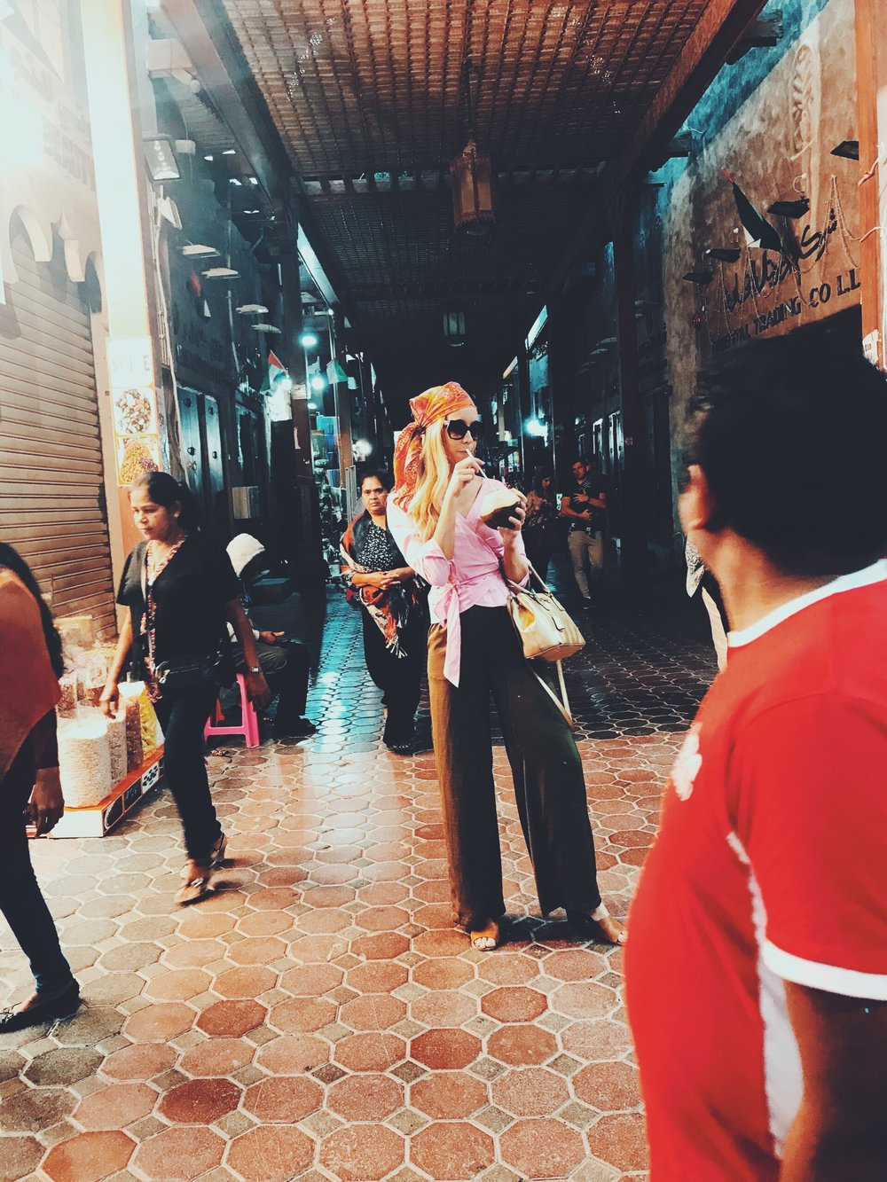 the souks - in old dubai