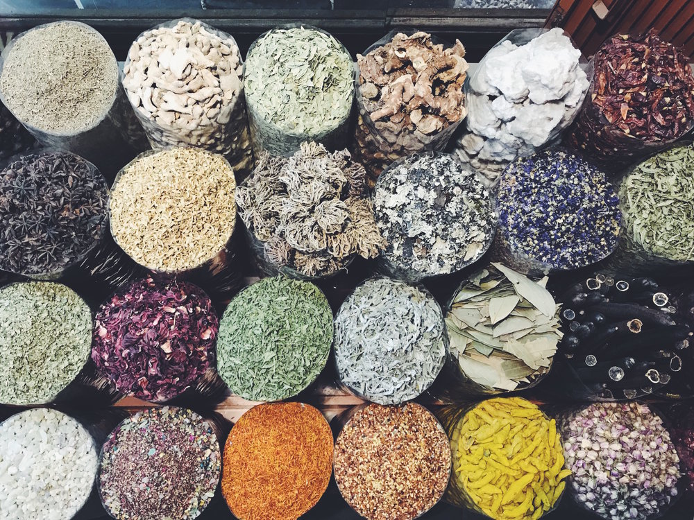 VISIONS OF DUBAI - spices, crystals & a luxe sweat session