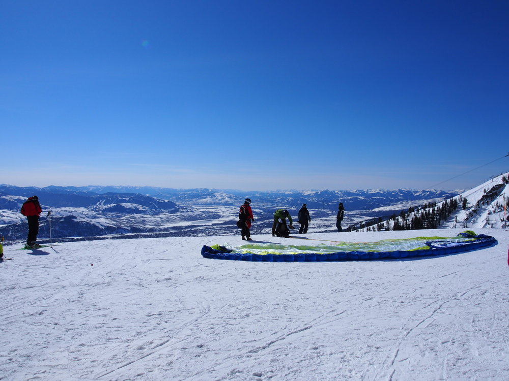 Paragliding for the adrenalin junkies Jackson Hole