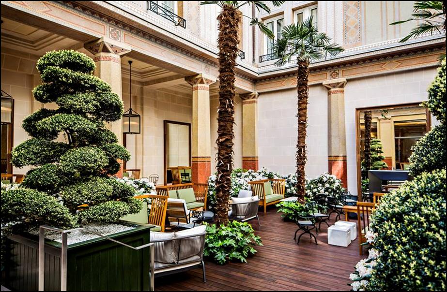 PRINCE de GALLES HOTEL, Paris
