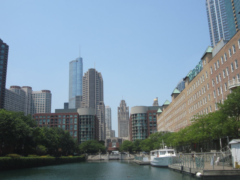 Chicago from the Architectural Boat Tour