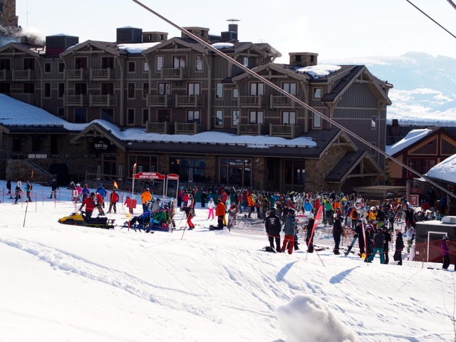 Four Seasons Resort in Jackson Hole with convenient ski-in/ski-out access