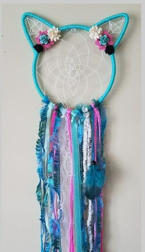 DIY Cat Dreamcatcher  - 11am-12:30pm$30Create your own cat head Dreamcatcher... tons of decorations to choose from!