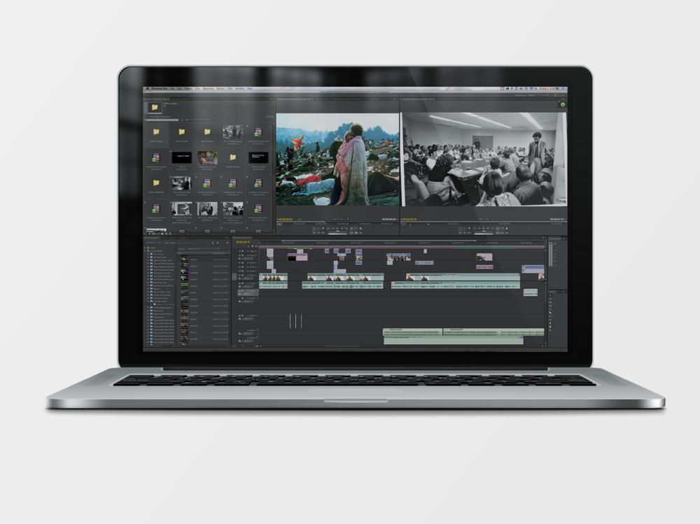 Editing Process of Slideshow