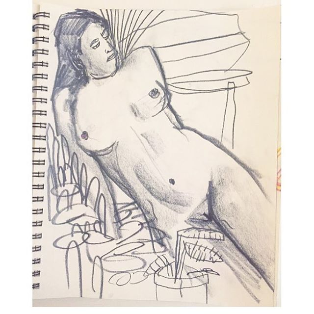 Mark your calendar!!! Figure drawing this Sunday night ✨ Come draw a naked lady and some plants with us from 7-9 PM... $15, drawing materials and wine included 😘