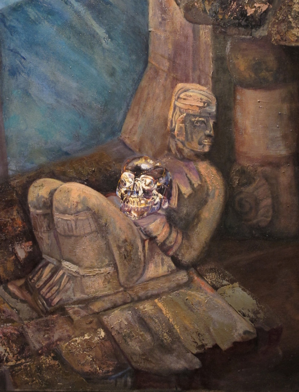 Sacred Skull detail