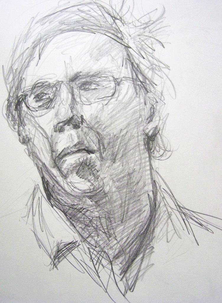 Direct Observational Portrait Study  Graphite 2013